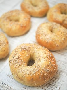 Good Morning Breakfast, Morning Food, Breakfast Time, Bagels Sans Gluten, Game Night Food, New York Bagel, No Rise Bread, New York Food, Canadian Food