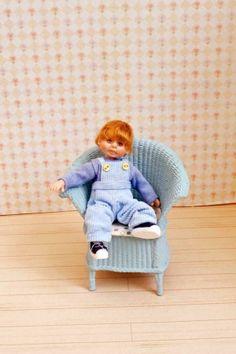Miniature Handmade Toddler Boy OOAK Dollhouse Art Doll House 1/12 Scale | eBay