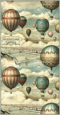 / hot air balloons /