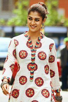 New Collection of Kurti Neck Designs For Women - Indian Fashion Ideas Salwar Neck Designs, Neck Designs For Suits, Churidar Designs, Kurta Neck Design, Dress Neck Designs, Kurta Designs Women, Blouse Designs, Kurti Designs Party Wear, Woman Outfits
