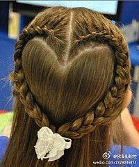 PERFECT flower girl hair =]