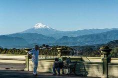 el pico de Orizaba desde el parque juarez en la Ciudad de #Xalapa