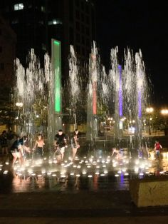Boston Fountain.