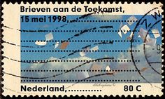 Netherlands.  Letter Writing Day.  Scott 994 A371, Issued 1998 May 8,   Litho.,  Perf.13 1/2, 80c. /ldb.