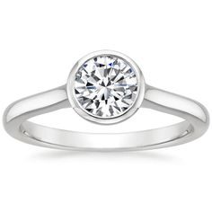 18K+White+Gold+Luna+Ring+from+Brilliant+Earth- i love this ring setting, but I know I can find this cheaper somewhere!