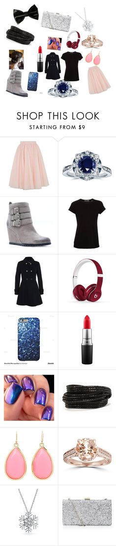"""""""Untitled #22"""" by tracy-douglas-1 on Polyvore featuring Ted Baker, Kobelli, Qupid, Vince, Miss Selfridge, Beats by Dr. Dre, MAC Cosmetics, Pieces, Kate Spade and Bling Jewelry"""