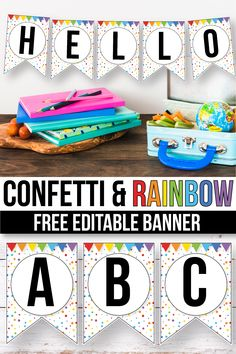 FREE Editable banner printable perfect for your classroom decor. Make your own flag letters using this template. With these easy to edit templates, creating decorations for your classroom wall display has never been easier, plus your students will love to Classroom Welcome, Classroom Banner, Classroom Walls, New Classroom, Classroom Setting, Classroom Setup, Classroom Design, Kindergarten Classroom, Classroom Organization