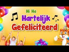 Hi Ha hartelijk gefeliciteerd 🎵 Verjaardagsliedjes 🎈 Nederlands - YouTube Texts, Happy Birthday, Language, Family Guy, Messages, Teaching, Youtube, School, September