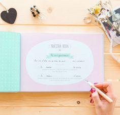 Bodas con detalle - Blog especializado en bodas | por Rebeca Ruiz: 5 agendas de novia bonitas para organizar tu boda