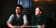 Winifred is a lucky girl Jonathan Crombie, Gilbert Blythe, Anne Shirley, Lucas Jade Zumann, Annette Bening, Amybeth Mcnulty, Gilbert And Anne, Anne White, Anne With An E