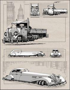 Showcase of Dieselpunk Artworks