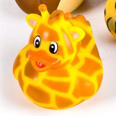 Zoo+Animal+Giraffe+Rubber+Ducky+-+$1.00+:+Ducks+Only!,+Exclusively+Ducks