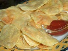 Batatas fritas no microondas, Receita Petitchef Snack Recipes, Dessert Recipes, Desserts, Rice Pasta, Micro Onde, Dessert Drinks, Tupperware, Starters, Apple Pie