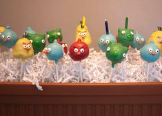 You can't go wrong with an Angry Birds-themed party.