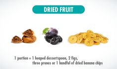 Dried fruit portion size