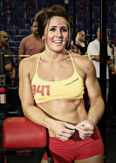 My CrossFit Idol: Stacie Tovar. Photo by CFC Uptown