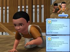 Mod The Sims - *Updated 11/01* Toddler Interactions