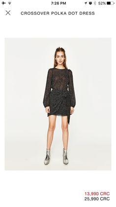 5b76da846da99 Zara Dresses, Fashion Dresses, Zara Women, Summer Wear, Dot Dress, Spring