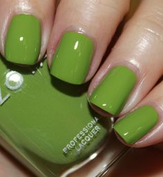 Reminds me of our house before we remodeled - sixties green.  Didn't work for the decor but would look great on the piggies.  Zoya Tickled Summer 2014, color Tilda.