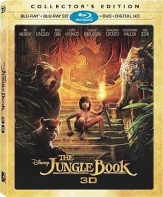 Disneys THE JUNGLE BOOK Collectors Edition Coming Soon To Blu-ray 3D
