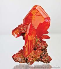 NM - Wulfenite   Can be found at Red Cloud Canyon
