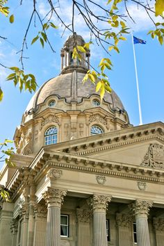 Legislature Building, Edmonton, Alberta, Canada - My grandfather used to work here. From minimally educated farm boy to Goverment Superintendent - pretty good stuff. (That was back in 'the day' when you could do very well without a 'college education'.)