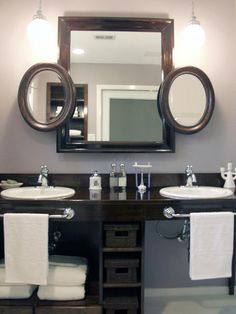 Check out these stylish bathroom vanities with functional storage solutions at…