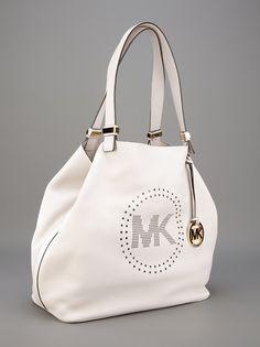 MICHAEL KORS - Bolsa off white. 3 #michaelkors #victoriasecrets #carolinaherrera #louisvuitton #prada