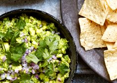 Celery-Spiked Guacamole with Chiles Fresh celery lightens this guacamole and adds some serious crunch, while chiles add some serious heat.