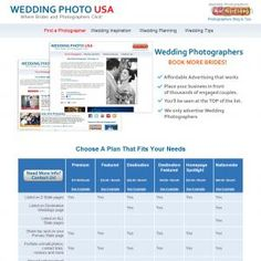Earn 50% On Initial Sale And 50% On Monthly Recurring! Help Wedding Photographers Promote Their Business Directly To Brides On Our High Traffic Wedding & Photography Focused Portal Since 2003. Earn Easy Recurring Monthly Commissions! See more! : http://get-now.natantoday.com/lp.php?target=interadusa