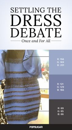 What Color Is This Dress? NOBODY Can Decide. I've seen it both blue and black and white and gold.