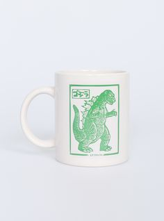 Кружка Godzilla by Brian Reedy бренда Extra - магазин Юность