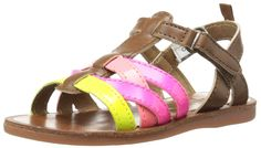 OshKosh B'Gosh Calypso-G Multi Strap Fashion Sandal (Toddler/Little Kid) ** Review more details here : Girls sandals