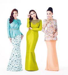 2013 Raya bersama Siti Saleha| Designer - Innai Red