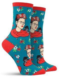 frida kahlo awesome novelty socks for women