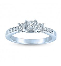 Dream Egagement ring. I like the symbolic of the 3 diamonds; Two families merging into 1 bigger family.