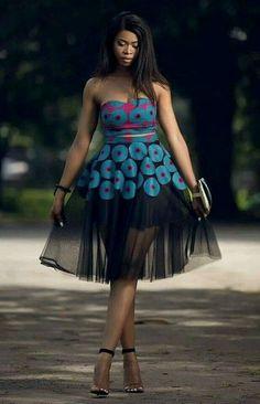 37 Native Ankara Styles Attires For Nigerian Ankara Styles Catalogue 2019 African Prom Dresses, Ankara Dress Styles, Latest African Fashion Dresses, African Dresses For Women, African Attire, Ankara Fashion, Nigerian Fashion Dresses, Ankara Gowns, Ankara Stil