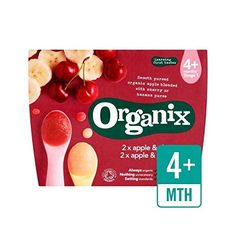 Organix Apple  Banana  Apple  Cherry Dual Compote 4 x 100g  Pack of 6 >>> Be sure to check out this awesome product.