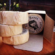 5 pack Sweet Orange Soap - large - 3.75 oz each - Natural Organic Vegan by LocalHandsSoapCo on Etsy