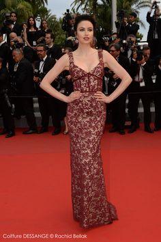 Emma Miller #dessange #cannes2015 #coiffeurofficiel Cannes Film Festival 2015, Cannes 2015, Star Francaise, Palais Des Festivals, Hairdresser, Red Carpet, Formal Dresses, Photos, Fashion