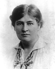 Willa Cather / writer from eastern Nebraska.  A lesbian who lived with her partner of many many years in Greenwich Village, NYC. / writer of 'Oh, Pioneers' and 'My Antonia'