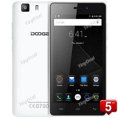 DOOGEE X5S Quad-core MTK6735P 64-bit Android 5.1 4G LTE 8MP CAM 1GB RAM 8GB ROM Android Phone