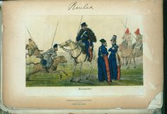 Cossacks (NYPL > The Vinkhuijzen collection of military uniforms > Russia. > Russia, 1813 [part 1])