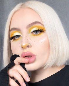 ABC Make Up Foundation Eyebrow Eyeliner Blush Cosmetic Concealer Brushes (Rose Gold) - Cute Makeup Guide Makeup Eye Looks, Creative Makeup Looks, Cute Makeup, Eyeshadow Looks, Pretty Makeup, Simple Makeup, Eyeshadow Makeup, Eyeshadow Ideas, Makeup Brushes
