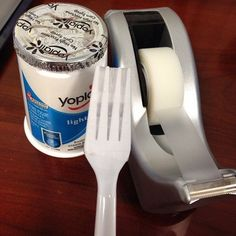 This spoon-less foodie. | 21 People Who Made The Best Of A Bad Situation