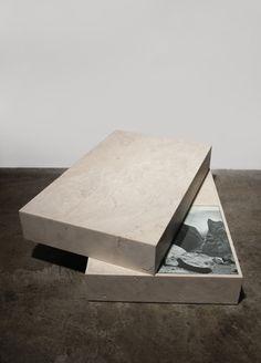 Elena Damiani - Rotated Slabs, 2012 - Marble, glass, collage