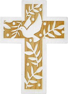 Clay Cross, Cross Art, Stencil Patterns, Stencil Art, Christian Symbols, South Tyrol, Beaded Cross, Wood Crosses, Cross Paintings