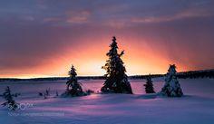 Sunrise bow by JrnAllanPedersen #Landscapes #Landscapephotography #Nature #Travel #photography #pictureoftheday #photooftheday #photooftheweek #trending #trendingnow #picoftheday #picoftheweek