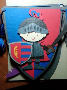Knight or Prince Party Banner by ThePaperPartyBox on Etsy, $35.25