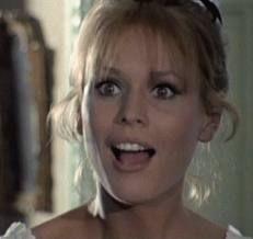 Marthe Keller et son accent dans La Demoiselle d'Avignon.